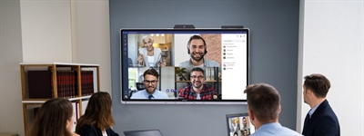 The Future of Work: Windows Collaboration Display from Sharp