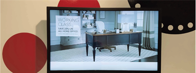Sharp and Candela Equip Furniture Retailer with Interactive Display Solutions for a Unique Shopping Experience
