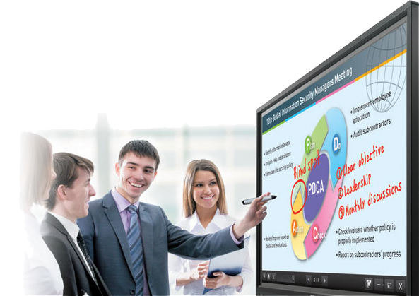 Sharp AQUOS BOARD Interactive Display Systems