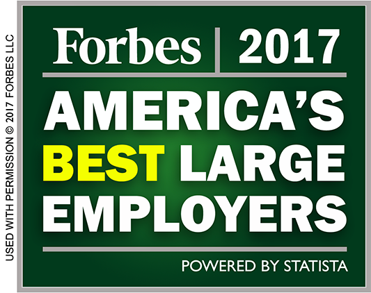 Forbes 2017 - America's Best Large Employers