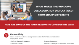 decorative thumbnail of Infographic: What makes WCD from Sharp Different?