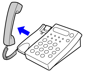 Receiving a fax after answering a call on the extension telephone operation sciox Gallery