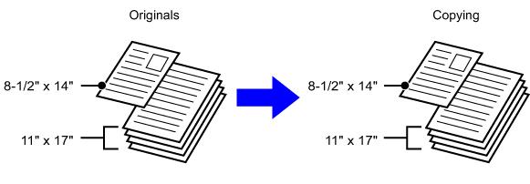 Scanning Originals Of Different Sizes Mx M365n Mx M465n Mx M565n