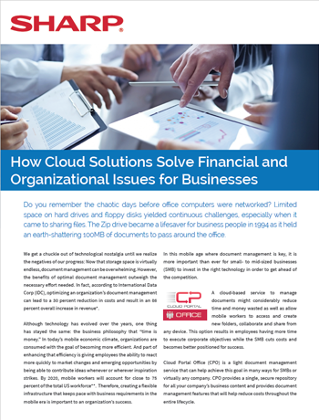 f0bd2395988 How Cloud Solutions Solve Financial and Organizational Issues for  Businesses   Articles   SHARP