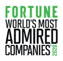 Fortune World's Most Admired Companies 2020 logo